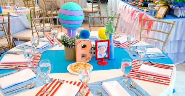 Dining Tablescape from a Oh the Places You'll Go Dr. Seuss Party via Kara's Party Ideas | KarasPartyIdeas.com (2)