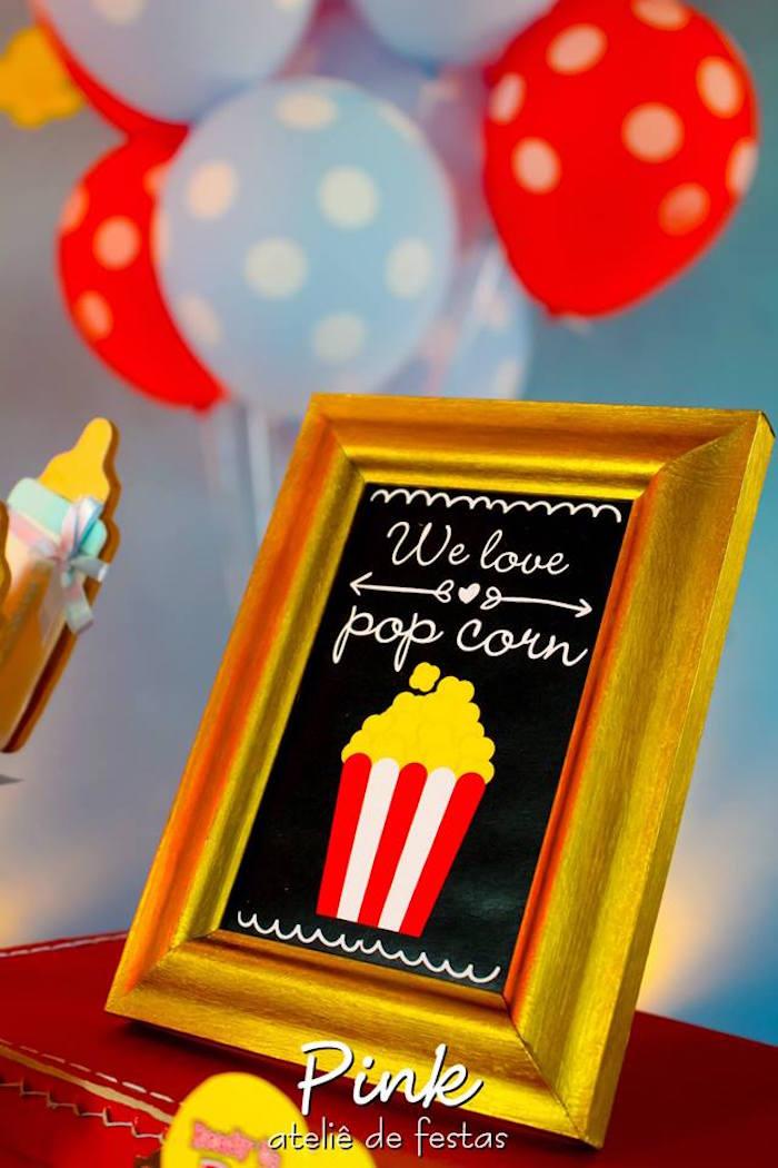 kara u0026 39 s party ideas sign from a  u0026quot ready to pop u0026quot  baby shower via kara u0026 39 s party ideas