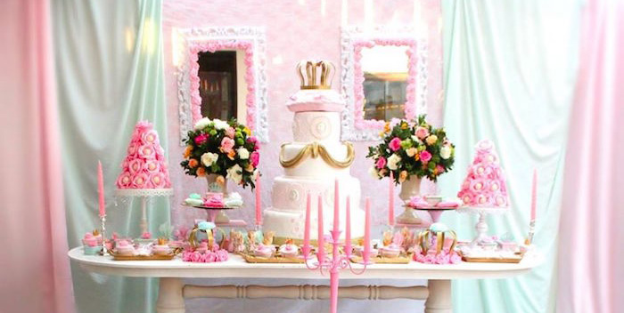 Kara S Party Ideas Royal Highness Princess Birthday Party