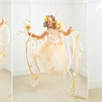 Shooting Star Halloween DIY Costume by Kara Allen | Kara's Party Ideas | KarasPartyIdeas.com #michaelsmakers