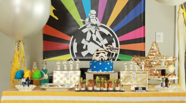 Dessert Table from a Star Wars Birthday Party via Kara's Party ideas | KarasPartyIdeas.com (3)
