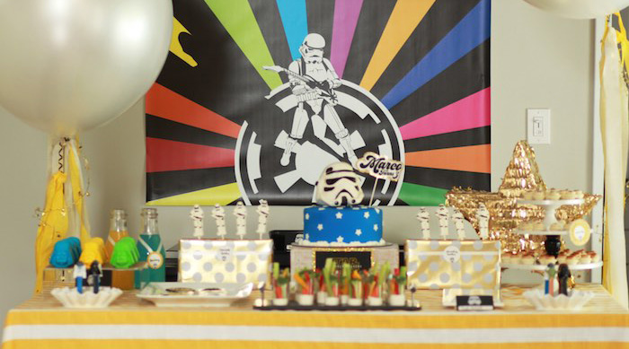 Karas Party Ideas Star Wars Birthday Party The Force Karas