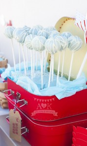 Cake Pops from an Up, Up & Away 1st Birthday Party via Kara's Party Ideas KarasPartyIdeas.com (11)