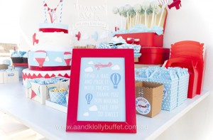Stationery/Sign from an Up, Up & Away 1st Birthday Party via Kara's Party Ideas KarasPartyIdeas.com (6)