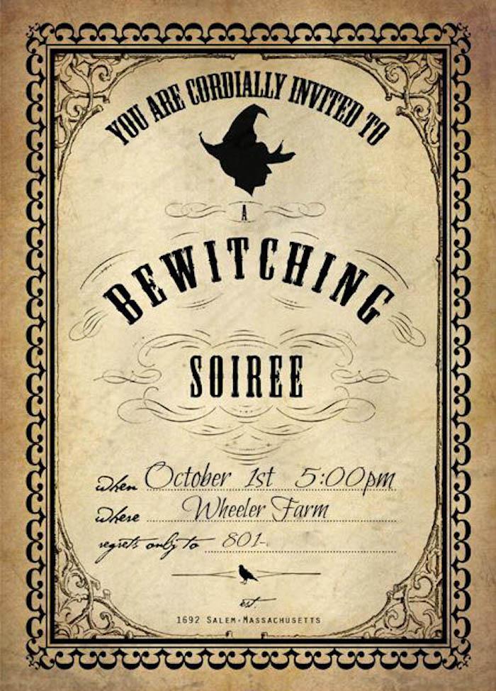 Similiar Witches Wedding Invitations Keywords