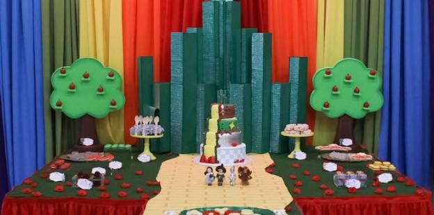 Dessert Table from a Wizard of Oz Birthday Party via Kara's Party Ideas   KarasPartyIdeas.com (3)
