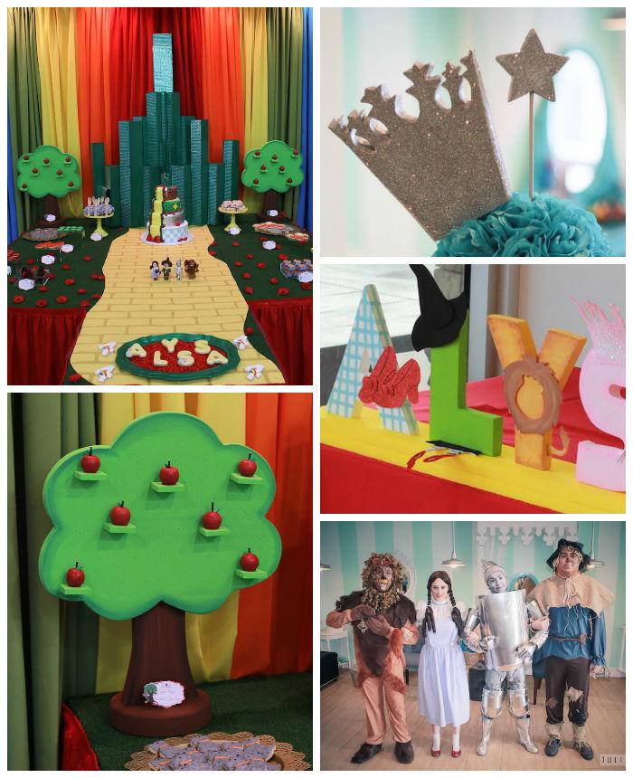Kara S Party Ideas Wizard Of Oz Birthday Party Kara S