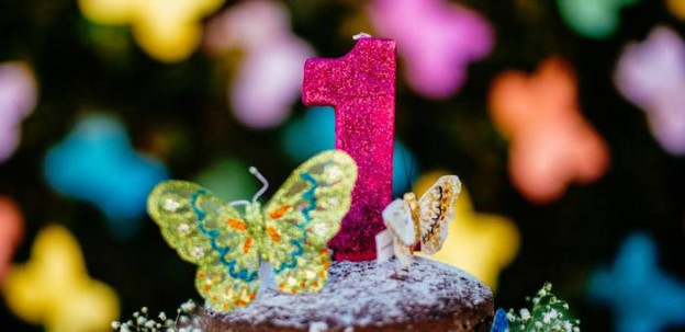 Cake Toppers from a Butterfly Garden Party via Kara's Party Ideas! KarasPartyIdeas.com (2)