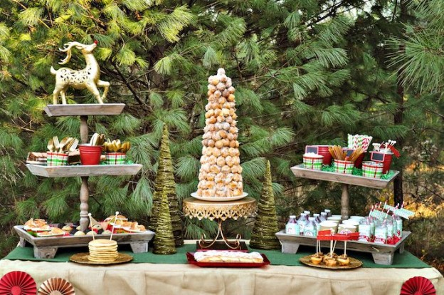 Brunch Sweets + Treats from a Christmas Brunch & Reindeer Games Party via Kara's Party Ideas | KarasPartyIdeas.com (29)