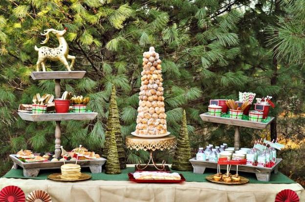 Brunch Sweets + Treats from a Christmas Brunch & Reindeer Games Party via Kara's Party Ideas | KarasPartyIdeas.com (29)