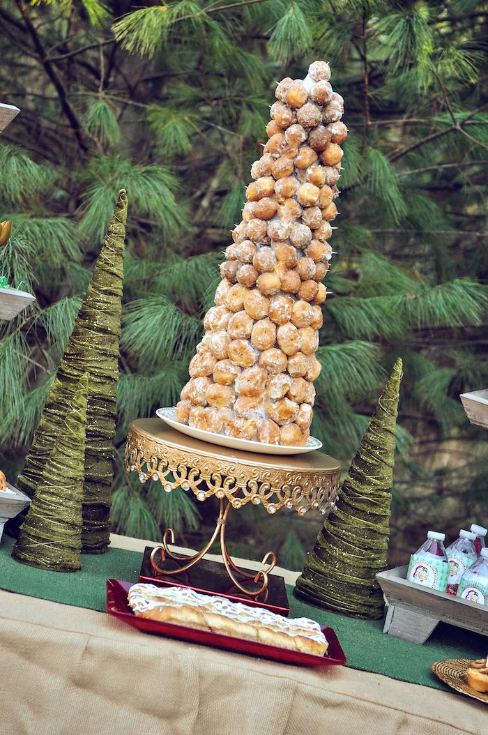 kara u0026 39 s party ideas donut hole tree from a christmas brunch