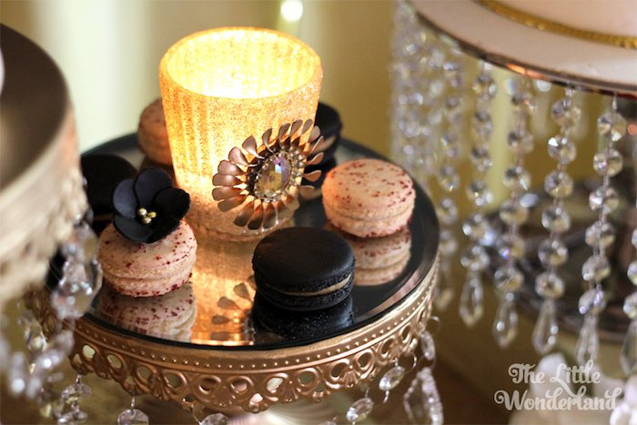 Kara S Party Ideas Macarons From A Great Gatsby Birthday