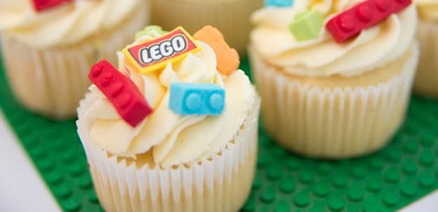 Cupcakes from a Lego Birthday Party via Kara's Party Ideas | KarasPartyIdeas.com (1)