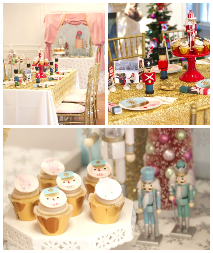 Kara S Party Ideas Nutcracker Ballet Birthday Holiday Party