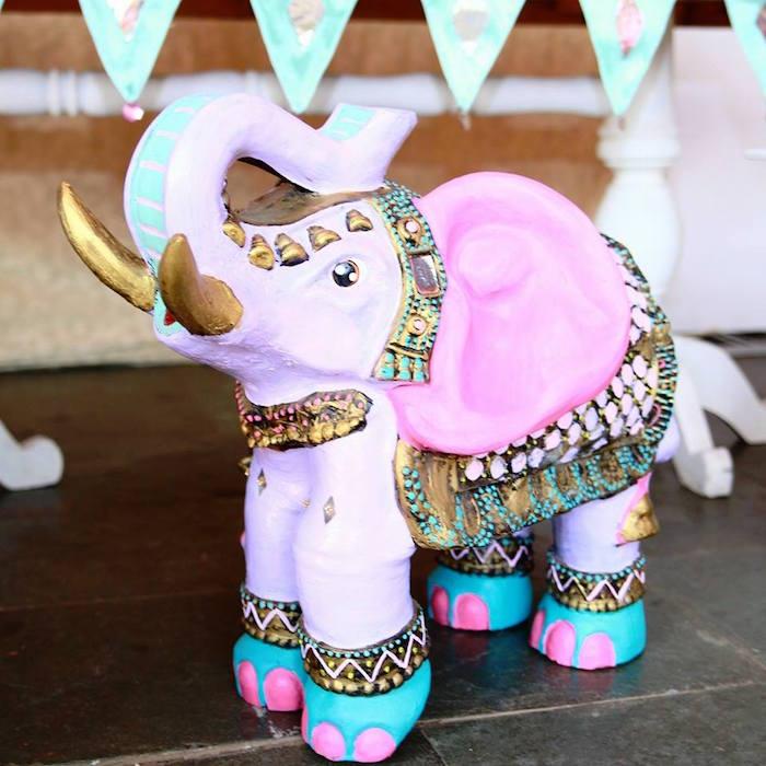 Kara's Party Ideas Arabian Elephant Prop from a Princess ...