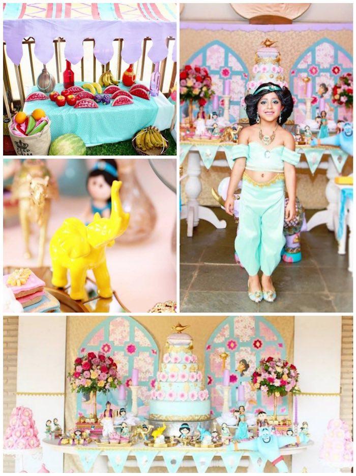 Karas Party Ideas Aladdin Princess Jasmine Birthday