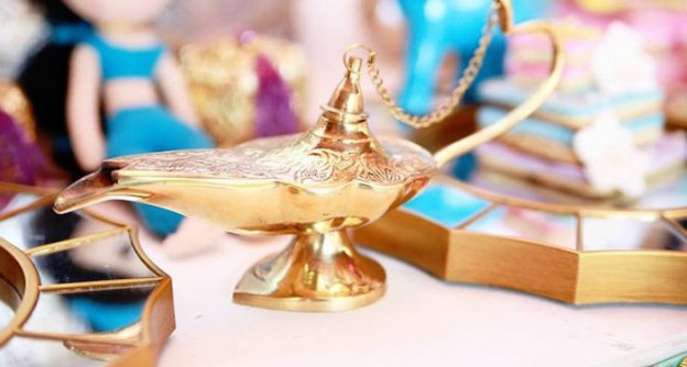 Genie's Lamp from a Princess Jasmine Birthday Party via Kara's Party Ideas | KarasPartyIdeas.com (1)