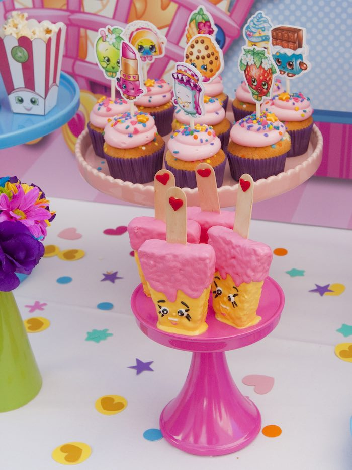 Karas Party Ideas Sweets From A Shopkins Birthday