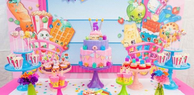 Sweet Table from a Shopkins Birthday Party via Kara's Party Ideas | KarasPartyIdeas.com (3)