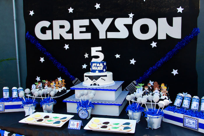 Sweet Table From A Star Wars Birthday Party Via Karas Ideas KarasPartyIdeas