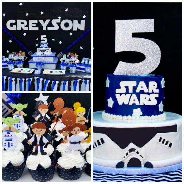 Star Wars Birthday Party via Kara's Party Ideas KarasPartyIdeas.com (1)