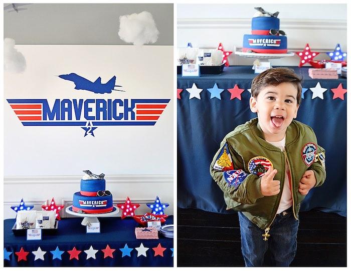 Kara's Party Ideas Top Gun Themed Birthday Party