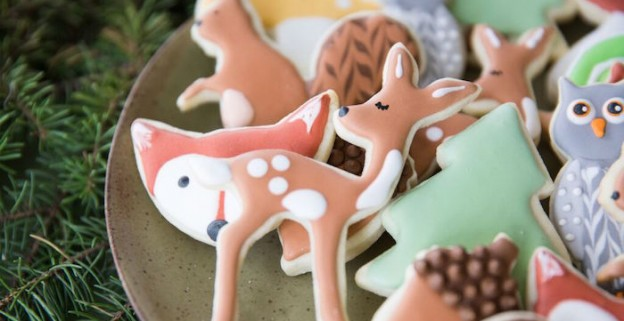 Cookies from a Woodland Baby Shower via Kara's Party Ideas | KarasPartyIdeas.com (1)