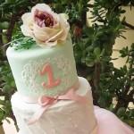 Cake from a Chic Ballerina Birthday Party via Kara's Party Ideas | KarasPartyIdeas.com (1)