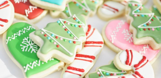 Cookies from a Cocoa & Cookies Christmas Party via Kara's Party Ideas KarasPartyIdeas.com (1)