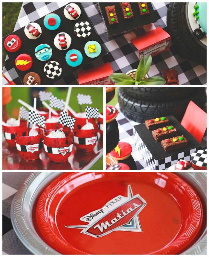 Kara's Party Ideas Disney Cars Birthday Party via Kara's Party Ideas KarasPartyIdeas.com (1 ...