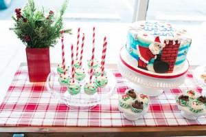 Cake Pops + Cake + Truffles from a Gingerbread House Decorating Party via Kara's Party Ideas KarasPartyIdeas.com (41)