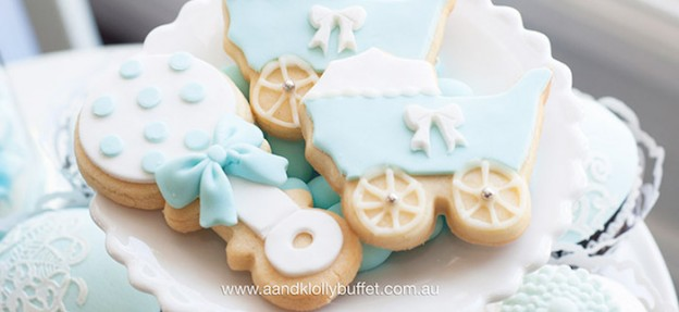Cookies from a Little Prince Baby Shower via Kara's Party Ideas | KarasPartyIdeas.com (1)