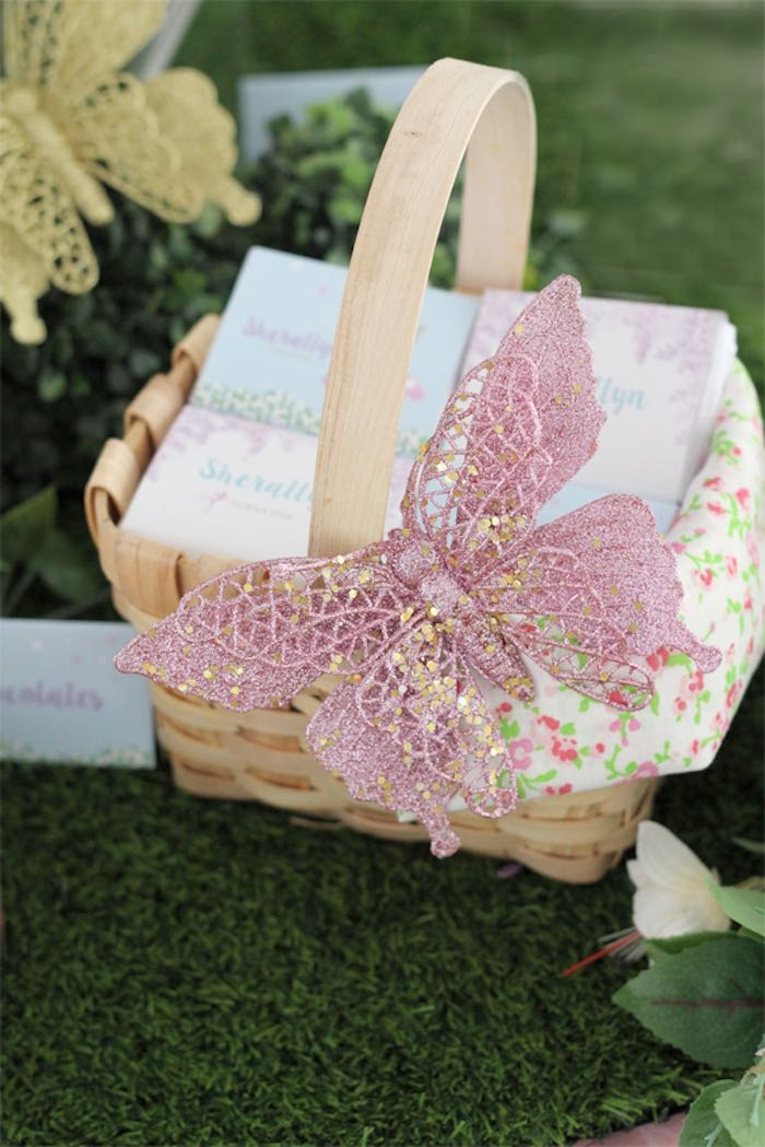 Kara S Party Ideas Basket Full Of Favors From A Magical