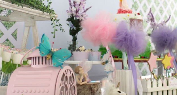 Decor from a Magical Secret Garden Birthday Party via Kara's Party Ideas | KarasPartyIdeas.com (1)