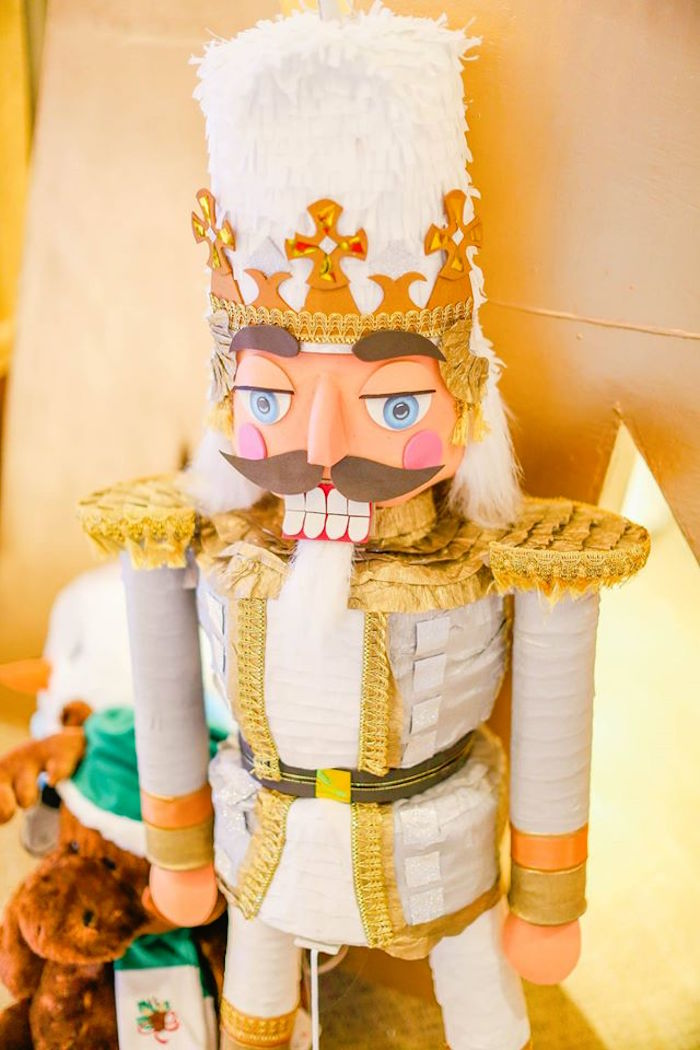 Giant Nutcracker Pinata From A Inspired Birthday Party Via Karas Ideas
