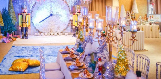 Partyscape from a Nutcracker Inspired Birthday Party via Kara's Party Ideas | KarasPartyIdeas.com (2)