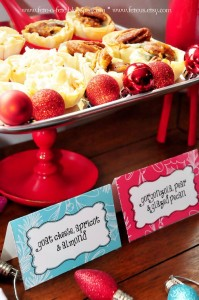 Sweets from a Retro Playful Christmas Party via Kara's Party Ideas | KarasPartyIdeas.com (21)