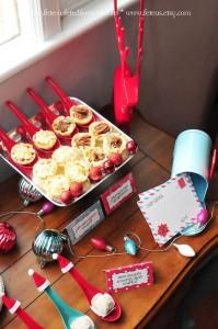 Sweets + Stationery + Decor from a Retro Playful Christmas Party via Kara's Party Ideas | KarasPartyIdeas.com (20)