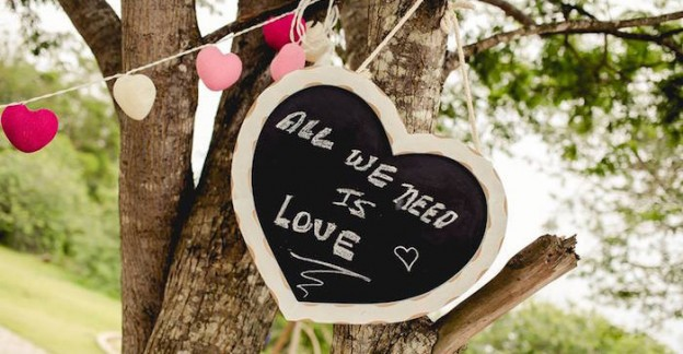 Chalkboard Sign from a Shabby Chic Picnic Party via Kara's Party Ideas | KarasPartyIdeas.com (3)