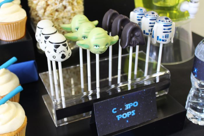 Kara S Party Ideas Cake Pops From A Star Wars Via
