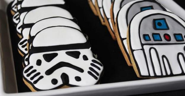 Cookies from a Star Wars Party via Kara's Party Ideas | KarasPartyIdeas.com (3)