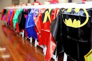 Capes from a Superhero Birthday Party via Kara's Party Ideas KarasPartyIdeas. com (18)