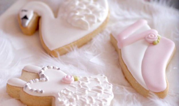 Cookies from a Swan Lake Ballerina Birthday Party via Kara's Party Ideas KarasPartyIdeas.com (2)