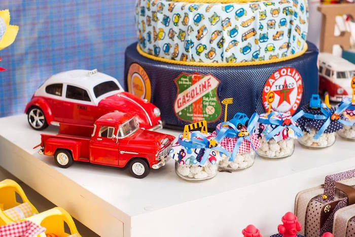 Vintage Car Birthday Decorations Wedding Decor