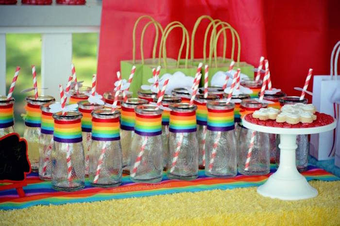 My Little Pony Birthday Party Food Ideas Rainbow Food Ideas For