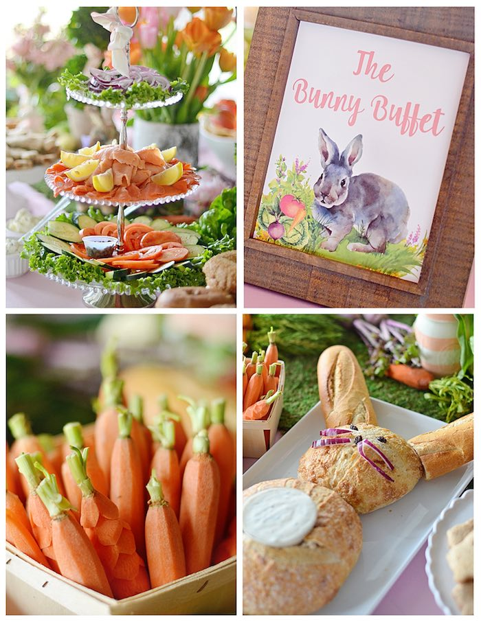 Food from a Bunny Birthday Party via Kara's Party Ideas | KarasPartyIdeas.com (12)