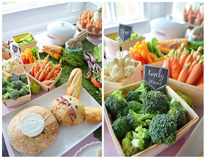 Food from a Bunny Birthday Party via Kara's Party Ideas | KarasPartyIdeas.com (11)