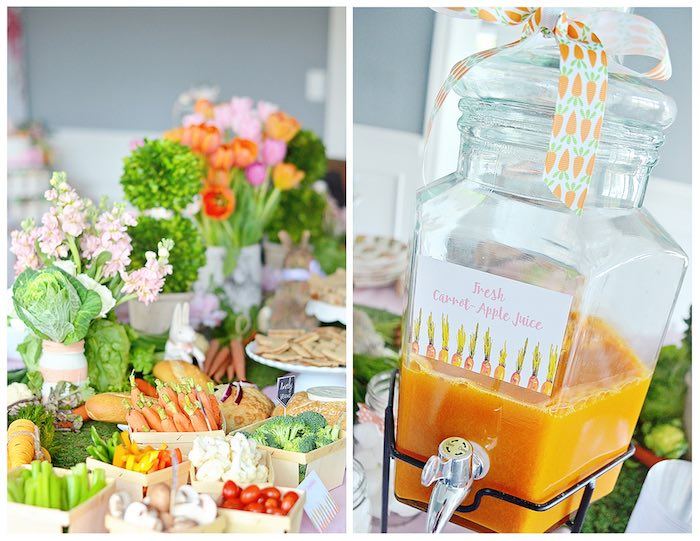 Food + Drink from a Bunny Birthday Party via Kara's Party Ideas | KarasPartyIdeas.com (10)