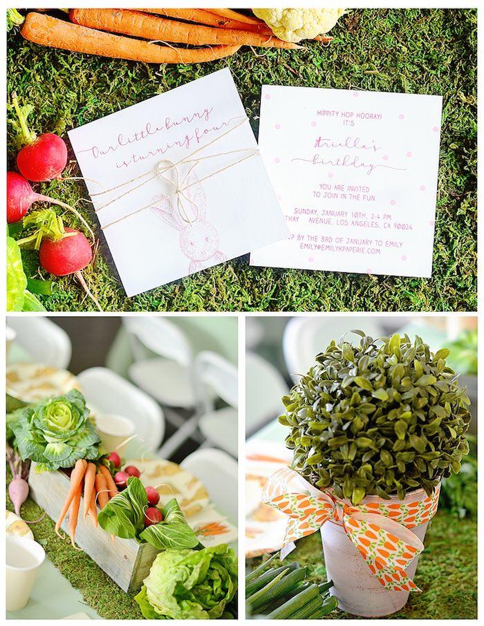 Kara S Party Ideas Bunny Birthday Party Kara S Party Ideas