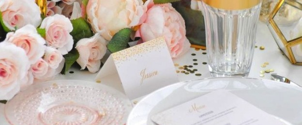 Chic Pink and Gold Golden Globes Party by Kara's Party Ideas | Kara Allen for Tiny Prints